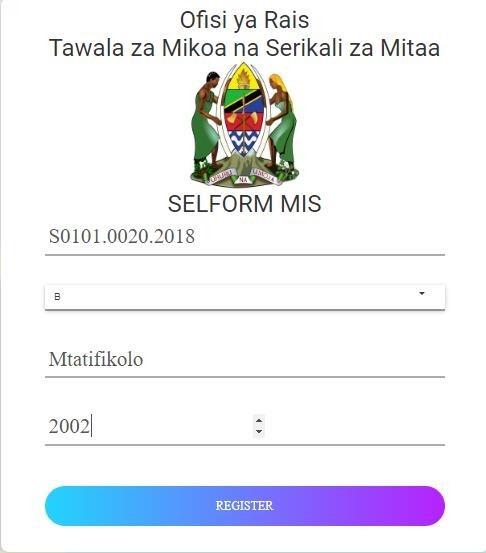 selform.tamisemi.go.tz 2021 - selform.tamisemi.go.tz 2021 register - tamisemi selform 2021