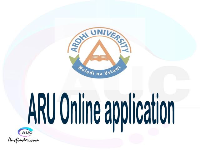 ARU online application, Ardhi University ARU online application, ARU Online application 2021/2022, how to apply at ARU, Ardhi University ARU admission