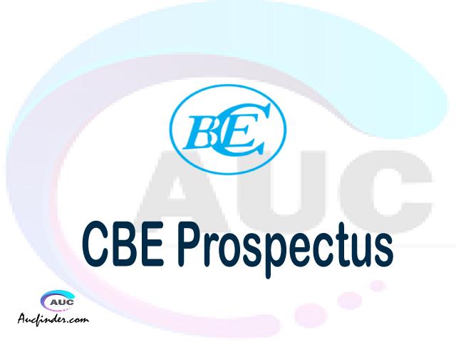 CBE prospectus 2021/2022 CBE prospectus 2021 pdf CBE prospectus postgraduate CBE undergraduate prospectus 2021/2022