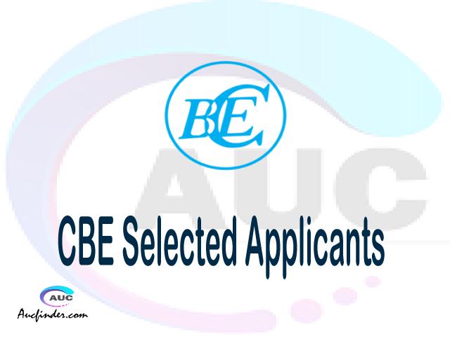 CBE selected applicants 2021/22 pdf, Majina ya waliochaguliwa College of Business Education, College of Business Education selected applicants, College of Business Education CBE Selected candidates 2021, College of Business Education CBE Selected students
