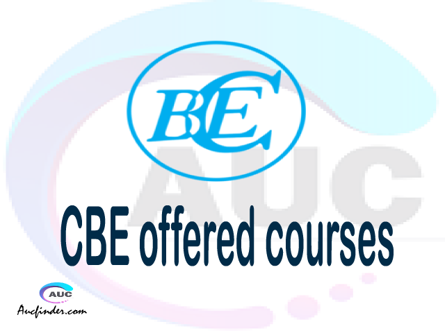 CBE courses 2021, College of Business Education offered courses, CBE courses and requirements, kozi za chuo kikuu cha College of Business Education, CBE diploma certificate Undergraduate degree and postgraduate courses