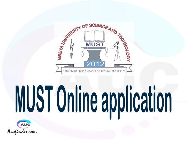 MUST online application, Mbeya University of Science and Technology MUST online application, MUST Online application 2021/2022, how to apply at MUST, Mbeya University of Science and Technology MUST admission