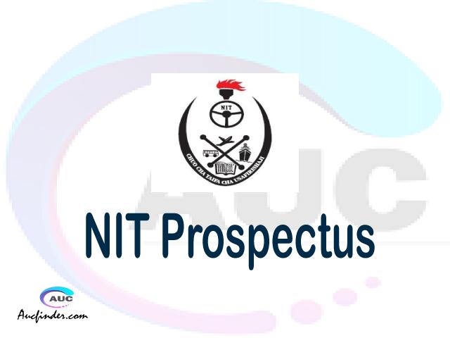 NIT prospectus 2021/2022 NIT prospectus 2021 pdf NIT prospectus postgraduate NIT undergraduate prospectus 2021/2022