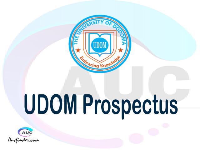 UDOM prospectus 2021/2022 UDOM prospectus 2021 pdf UDOM prospectus postgraduate UDOM undergraduate prospectus 2021/2022