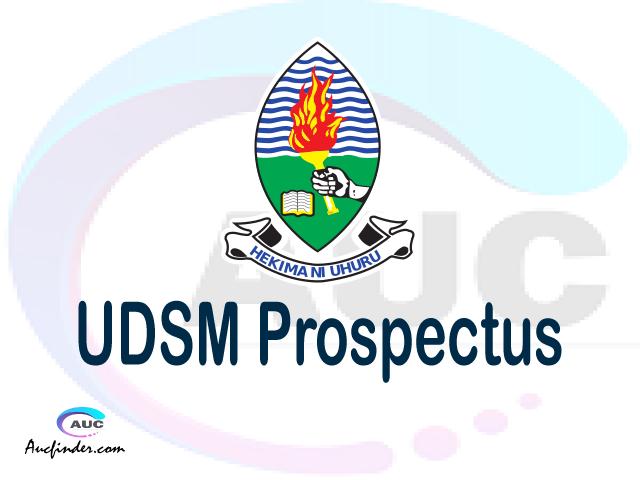 UDSM prospectus 2021/2022 UDSM prospectus 2021 pdf UDSM prospectus postgraduate UDSM undergraduate prospectus 2021/2022