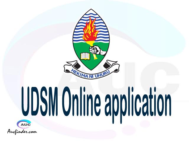 UDSM online application, University of Dar es Salaam UDSM online application, UDSM Online application 2021/2022, how to apply at UDSM, University of Dar es Salaam UDSM admission