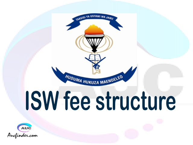 ISW fee structure 2021, Institute of Social Work fees, Institute of Social Work fee structure, Institute of Social Work tuition fees, Institute of Social Work (ISW) fee structure