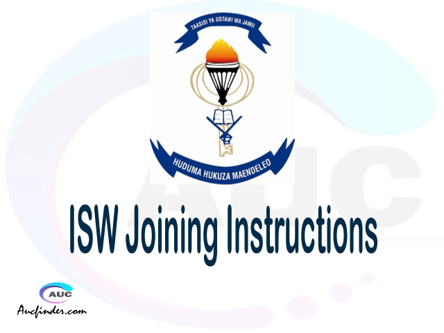 ISW joining instruction pdf 2021/2022 ISW joining instruction pdf ISW joining instruction 2021 Joining Instruction ISW 2021 Institute of Social Work joining instructions
