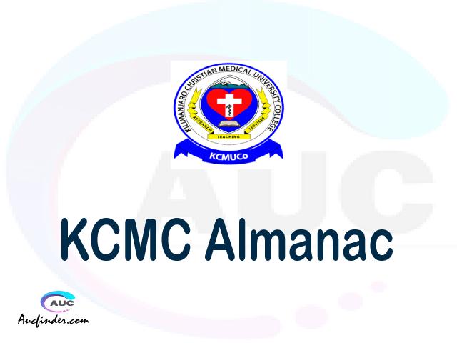 KCMC almanac Kilimanjaro Christian Medical College almanac Kilimanjaro Christian Medical College (KCMC) almanac Kilimanjaro Christian Medical College KCMC almanac Download Kilimanjaro Christian Medical College almanac