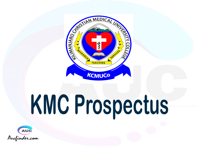 KCMC prospectus 2021/2022 KCMC prospectus 2021 pdf KCMC prospectus postgraduate KCMC undergraduate prospectus 2021/2022