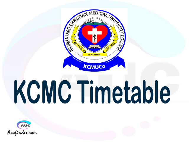 KCMC timetable, KCMC timetable second semester, SR2 KCMC timetable semester 2, Second Semester time table, second semester time table,
