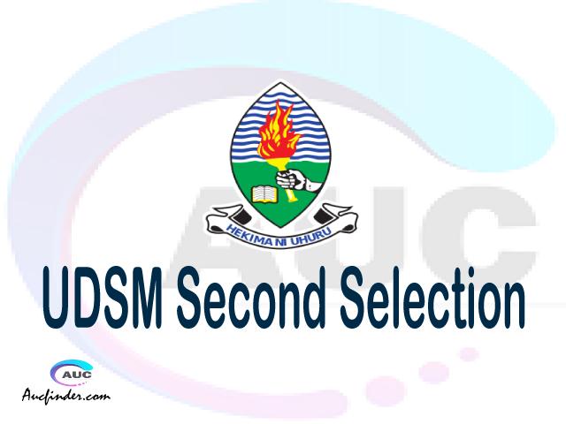 Find UDSM second selection - UDSM second round selected applicants - UDSM second round selection, UDSM selected applicants second round, UDSM second round selected students