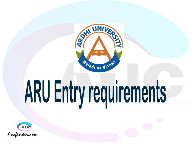 ARU Admission Entry requirements ARU Entry requirements Ardhi University Admission Entry requirements, Ardhi University Entry requirements sifa za kujiunga na chuo cha Ardhi University
