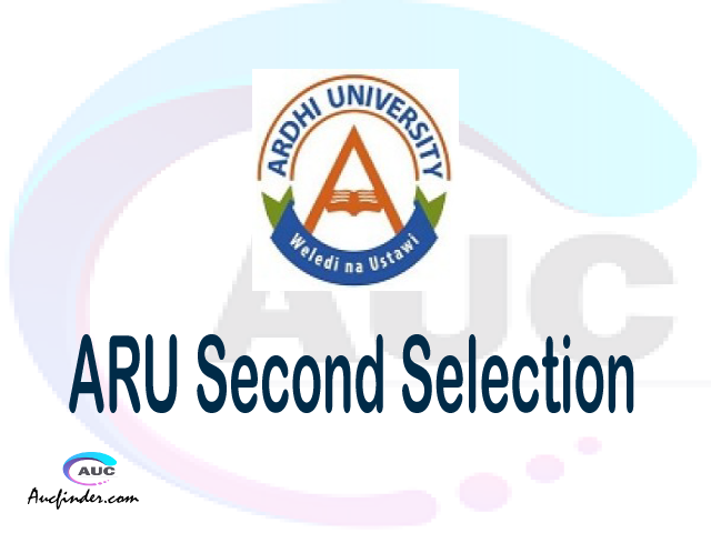 Find ARU second selection - ARU second round selected applicants - ARU second round selection, ARU selected applicants second round, ARU second round selected students
