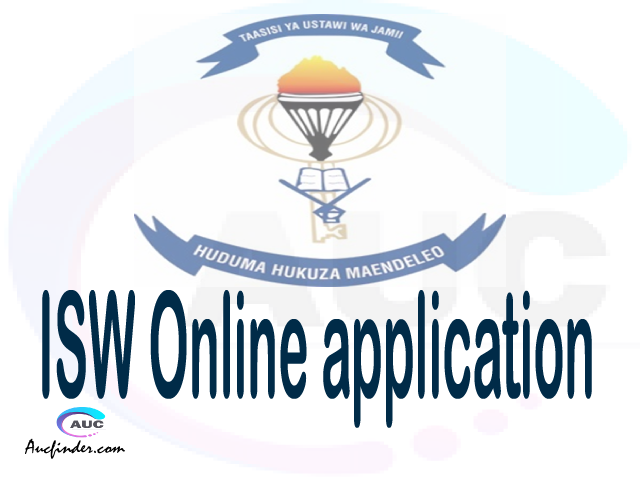 ISW online application, Institute of Social Work ISW online application, ISW Online application 2021/2022, how to apply at ISW