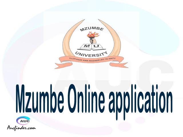 MU online application, Mzumbe University MU online application, MU Online application 2021/2022, how to apply at MU, Mzumbe University MU admission