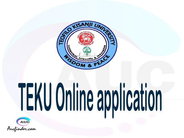 TEKU online application, Teofilo Kisanji University TEKU online application, TEKU Online application 2021/2022, TEKU application 2021/2022, Teofilo Kisanji University TEKU admission