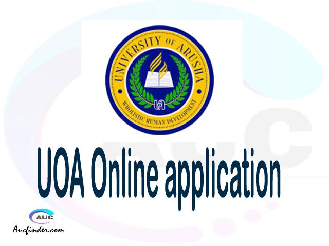 UOA online application, University of Arusha UOA online application, UOA Online application 2021/2022, UOA application 2021/2022, University of Arusha UOA admission