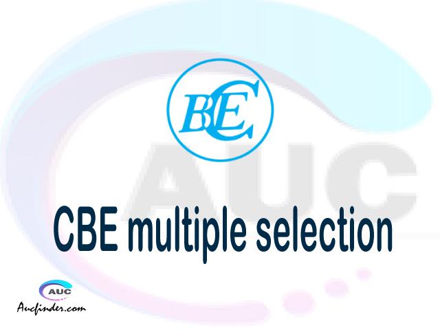 CBE Multiple selection, CBE multiple selected applicants, multiple selection CBE, CBE multiple Admission, CBE Applicants with multiple selection