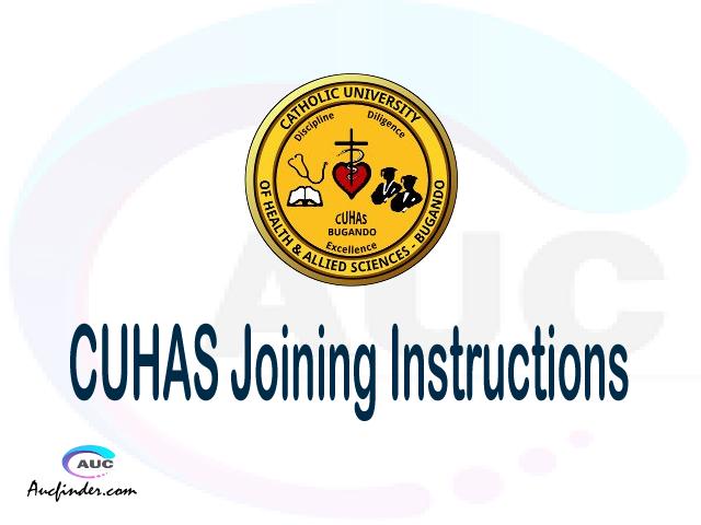 CUHAS joining instructions pdf CUHAS joining instructions pdf CUHAS joining instruction Joining Instruction CUHAS Catholic University of Health and Allied Sciences joining instructions