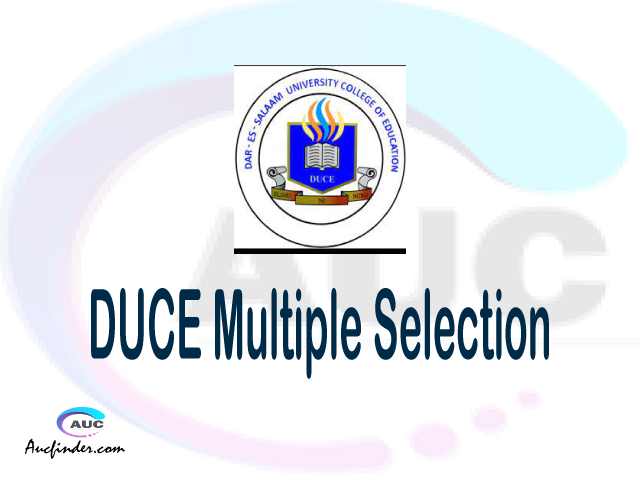 DUCE Multiple selection, DUCE multiple selected applicants, multiple selection DUCE, DUCE multiple Admission, DUCE Applicants with multiple selection