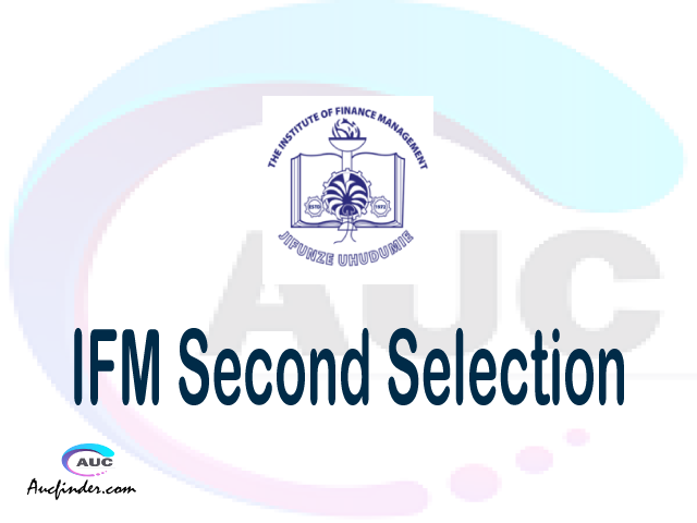 Find IFM second selection - IFM second round selected applicants - IFM second round selection, IFM selected applicants second round, IFM second round selected students