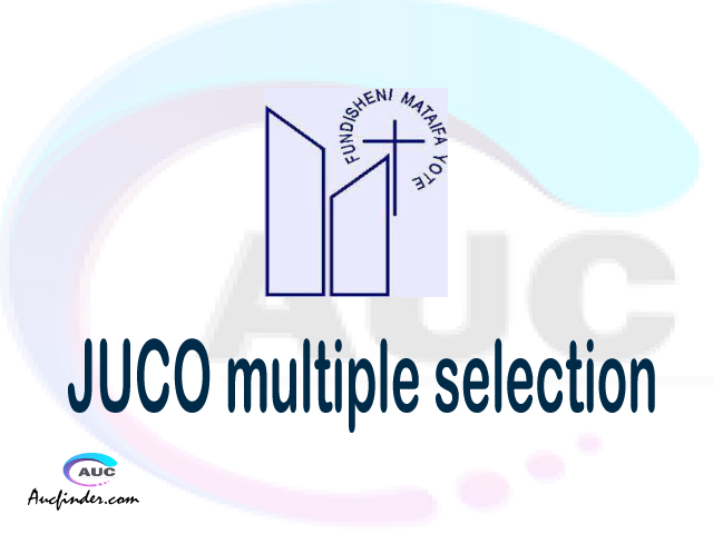 JUCO Multiple selection, JUCO multiple selected applicants, multiple selection JUCO, JUCO multiple Admission, JUCO Applicants with multiple selection