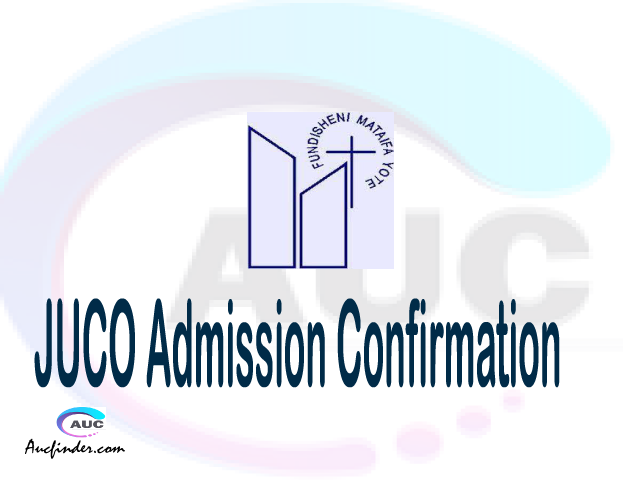 JUCO confirmation code, how to confirm JUCO admission, JUCO confirm admission, JUCO verification code, JUCO TCU confirmation code - confirm your admission at the Jordan University College JUCO