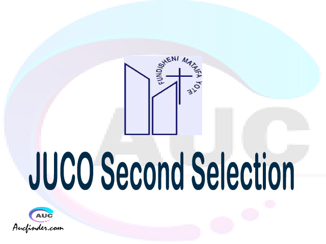 Find JUCO second selection - JUCO second round selected applicants - JUCO second round selection, JUCO selected applicants second round, JUCO second round selected students