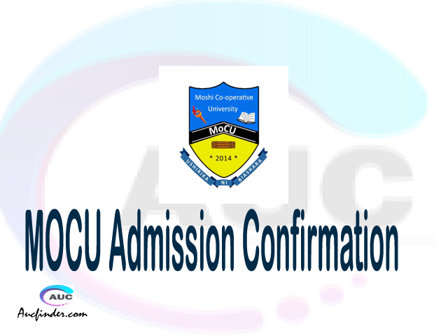 MOCU confirmation code, how to confirm MOCU admission, MOCU confirm admission, MOCU verification code, MOCU TCU confirmation code - confirm your admission at the Moshi Cooperative University MOCU