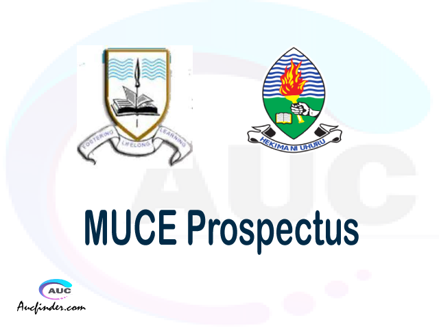 MUCE prospectus 2021/2022 MUCE prospectus 2021 pdf MUCE prospectus postgraduate MUCE undergraduate prospectus 2021/2022