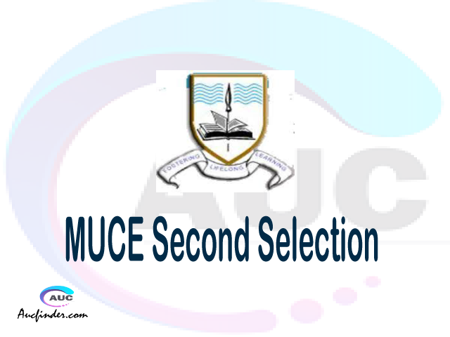 Find MUCE second selection - MUCE second round selected applicants - MUCE second round selection, MUCE selected applicants second round, MUCE second round selected students
