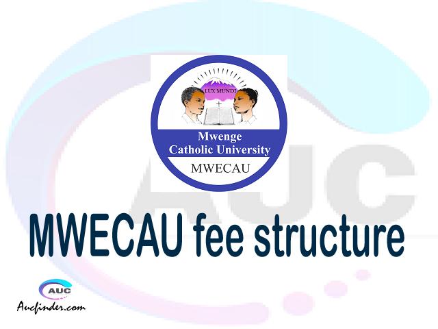 MWECAU fee structure 2021, Mwenge Catholic University fees, Mwenge Catholic University fee structure, Mwenge Catholic University tuition fees, Mwenge Catholic University (MWECAU) fee structure