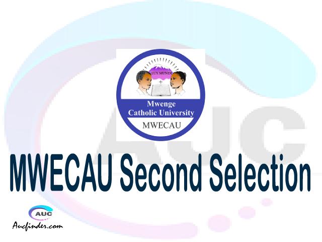 Find MWECAU second selection - MWECAU second round selected applicants - MWECAU second round selection, MWECAU selected applicants second round, MWECAU second round selected students