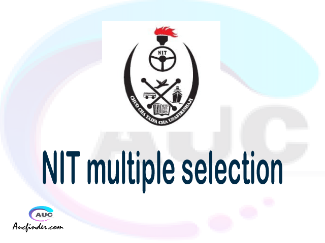 NIT Multiple selection, NIT multiple selected applicants, multiple selection NIT, NIT multiple Admission, NIT Applicants with multiple selection