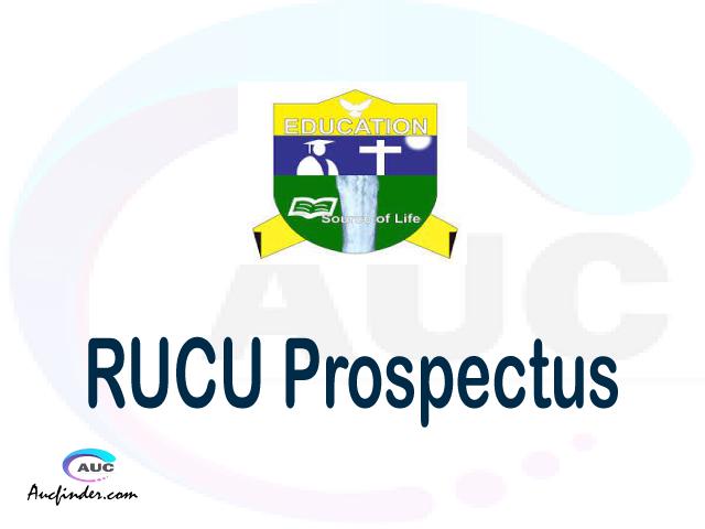 RUCU prospectus 2021/2022 RUCU prospectus 2021 pdf RUCU prospectus postgraduate RUCU undergraduate prospectus 2021/2022