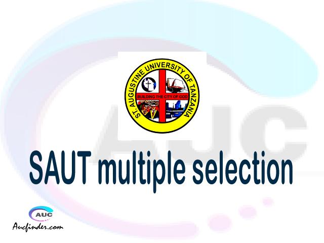 SAUT Multiple selection, SAUT multiple selected applicants, multiple selection SAUT, SAUT multiple Admission, SAUT Applicants with multiple selection