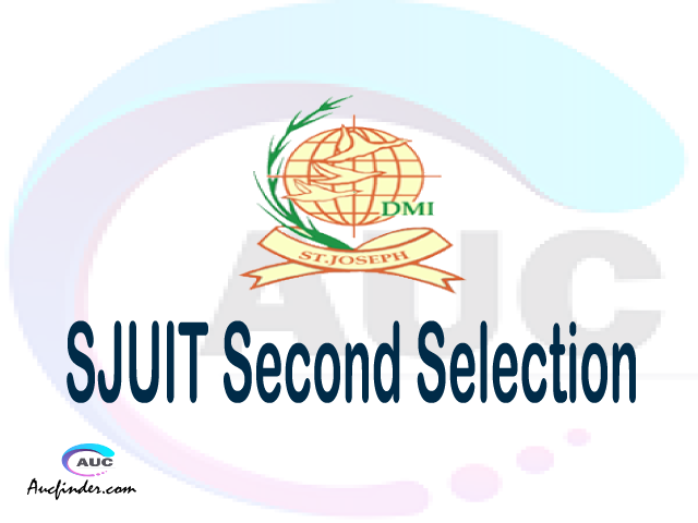 Find SJUT second selection - SJUT second round selected applicants - SJUT second round selection, SJUT selected applicants second round, SJUT second round selected students
