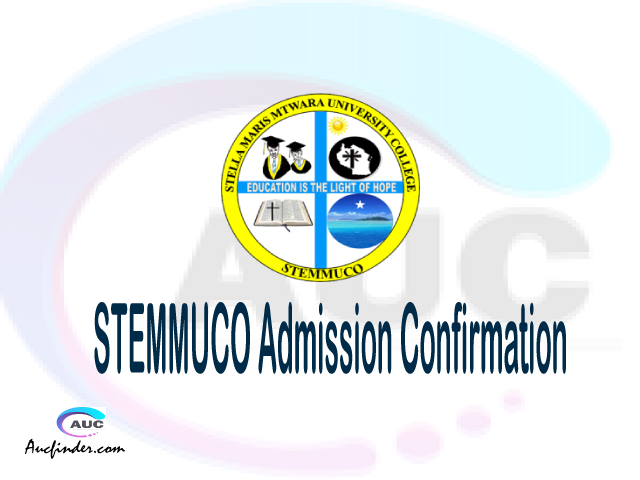 STEMMUCO confirmation code, how to confirm STEMMUCO admission, STEMMUCO confirm admission, STEMMUCO verification code, STEMMUCO TCU confirmation code - confirm your admission at the Stella Maris Mtwara University College STEMMUCO