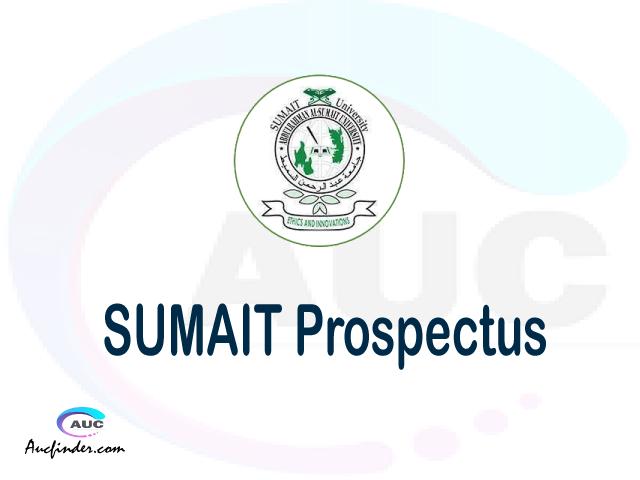 SUMAIT prospectus 2021/2022 SUMAIT prospectus 2021 pdf SUMAIT prospectus postgraduate SUMAIT undergraduate prospectus 2021/2022