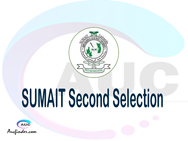 Find SUMAIT second selection - SUMAIT second round selected applicants - SUMAIT second round selection, SUMAIT selected applicants second round, SUMAIT second round selected students