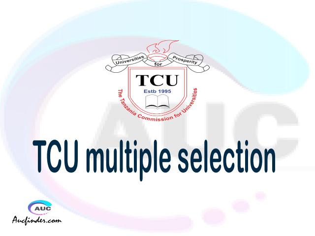 Multiple selection, TCU multiple selection 2021, TCU multiple selected applicants, multiple selection TCU, multiple selected applicants
