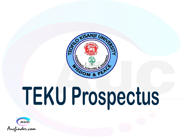 TEKU prospectus 2021/2022 TEKU prospectus 2021 pdf TEKU prospectus postgraduate TEKU undergraduate prospectus 2021/2022