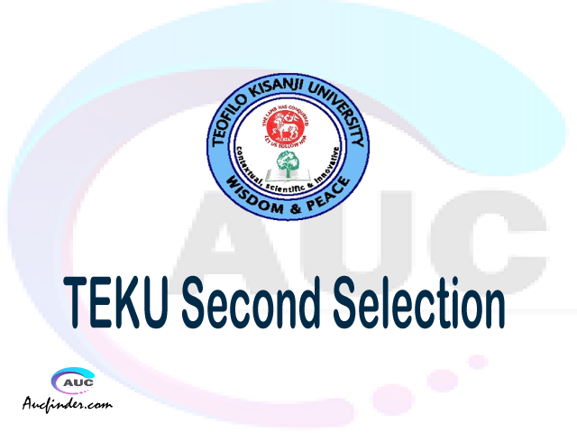 Find TEKU second selection - TEKU second round selected applicants - TEKU second round selection, TEKU selected applicants second round, TEKU second round selected students
