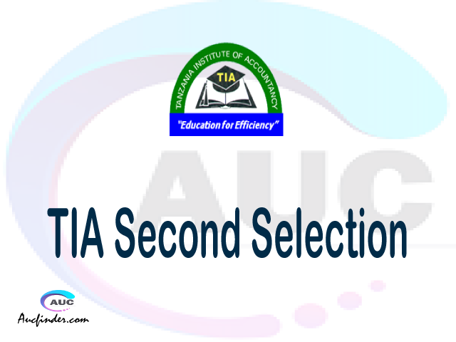 Find TIA second selection - TIA second round selected applicants - TIA second round selection, TIA selected applicants second round, TIA second round selected students