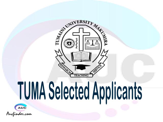 TUMA selected applicants 2021/22 pdf, Majina ya waliochaguliwa Tumaini University Makumira, Tumaini University Makumira selected applicants, Tumaini University Makumira TUMA Selected candidates 2021, Tumaini University Makumira TUMA Selected students