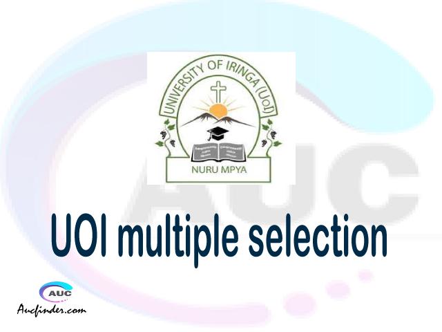 UOI Multiple selection, UOI multiple selected applicants, multiple selection UOI, UOI multiple Admission, UOI Applicants with multiple selection