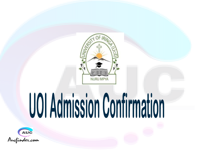 UOI confirmation code, how to confirm UOI admission, UOI confirm admission, UOI verification code, UOI TCU confirmation code - confirm your admission at the University of Iringa UOI