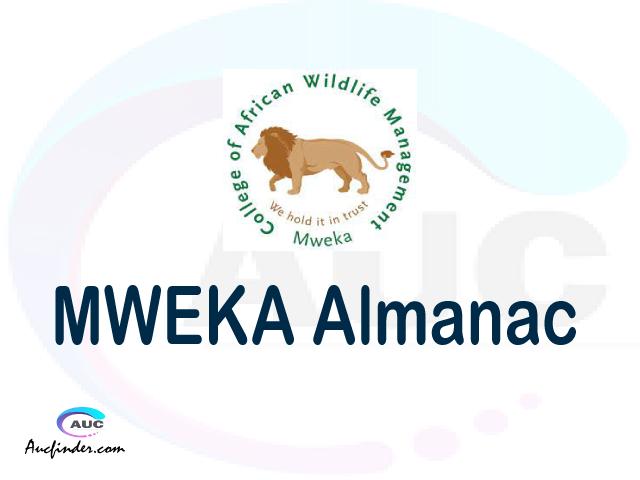 CAWM MWEKA almanac College of African Wildlife Management almanac College of African Wildlife Management (CAWM MWEKA) almanac College of African Wildlife Management CAWM MWEKA almanac Download College of African Wildlife Management almanac