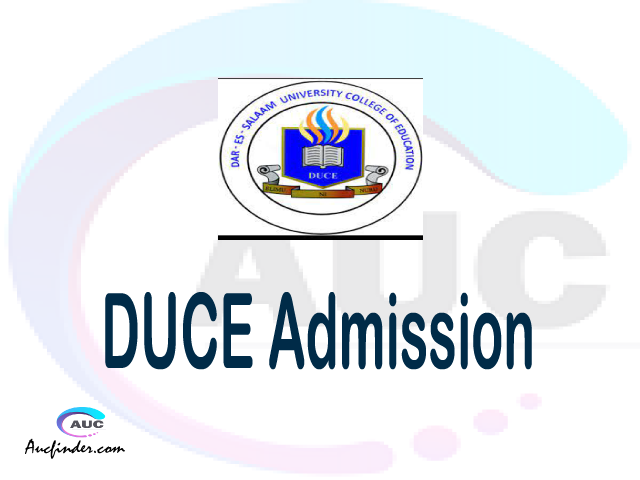Dar es Salaam University College of Education Admission Dar es Salaam University College of Education DUCE Admission